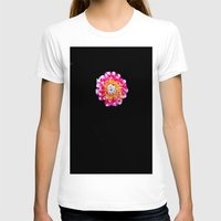 dahlia T-shirts featuring Dahlia by Trevor Jolley