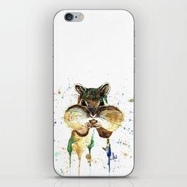 Chipmunk - Feeling Stuffed iPhone Skin