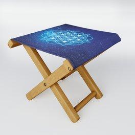 Sacred Geometry Folding Stool