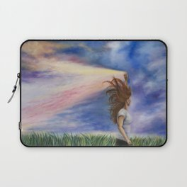 Let Your Light Shine Laptop Sleeve