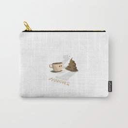 Coffee & Poop Homies Carry-All Pouch