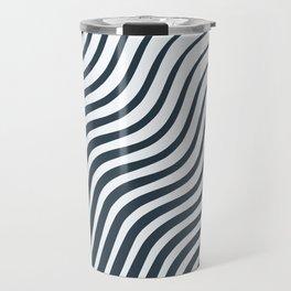Waves - Lines Travel Mug