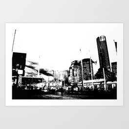 Melbourne City II Art Print