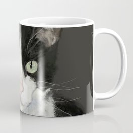 Cat Eightball Coffee Mug