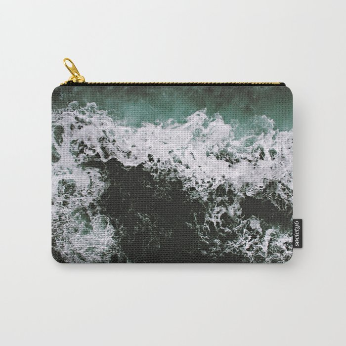 Waves #ocean Carry-All Pouch