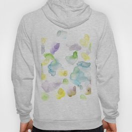 170722 Colour Loving 3 |Modern Watercolor Art | Abstract Watercolors Hoody