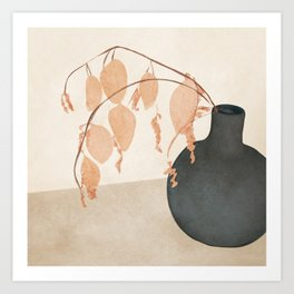 Branches in the Vase Art Print