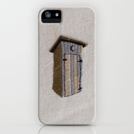 Out (of the) House iPhone Case