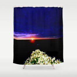 Endeavour Bay Shower Curtain