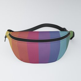 The Color Wheel / Rainbow Stripes Fanny Pack