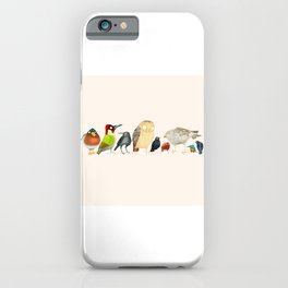Woodland Bird Collection iPhone Case