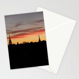 newburyport sky Stationery Cards