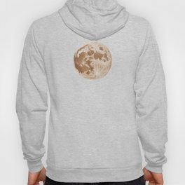 Moon Portrait 5, Linen Moon Hoody
