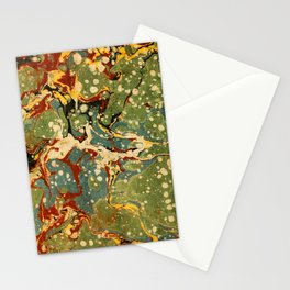 Marbled Paper – Muted Stationery Cards