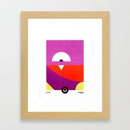 PKMNML #109 KOF FING Framed Art Print