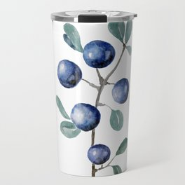 Blackthorn Blue Berries Travel Mug