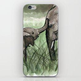 Elephant Compassion iPhone Skin
