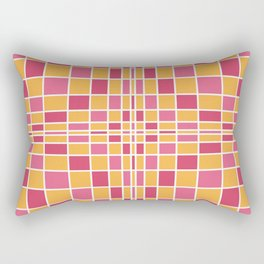 Citrus Berry Matrix Rectangular Pillow