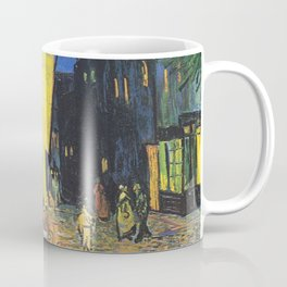 Café Terrace at Night by Vincent van Gogh Coffee Mug