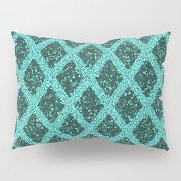 emerald rhombus Pillow Sham