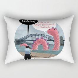 The secret of Nessie Rectangular Pillow