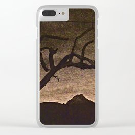 Crooked Limbs Clear iPhone Case