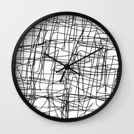 Mind Map Wall Clock