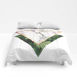 Geometric Tropical Marble Comforters