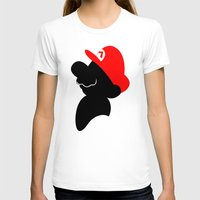 super mario T-shirts featuring Super Mario by Bonitismo
