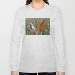The hare and the fox Long Sleeve T-shirt