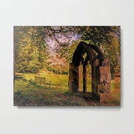 Manor house landscape. Metal Print