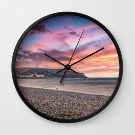 Llandudno North Shore Promenade Wall Clock
