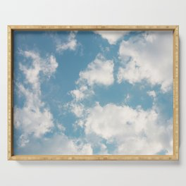 Clouds Serving Tray