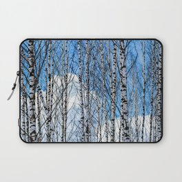 Birch Trees. Early Spring Laptop Sleeve