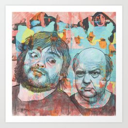 Tenacious D - This Is Just A Tribute, To The Greatest Band In The World Art Print