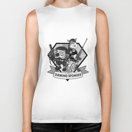 Diamond Sponges Biker Tank