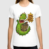 monster T-shirts featuring Monster by Twisted Dredz
