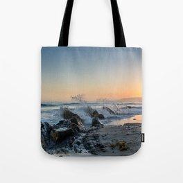 Santa Barbara Coastline Tote Bag