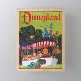 Vintage Airline Travel Poster - Florida Framed Mini Art Print