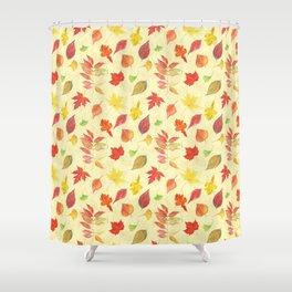Autumn leaves #21 Shower Curtain