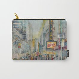 Broadway,  New York - Five O'Clock Revised Carry-All Pouch