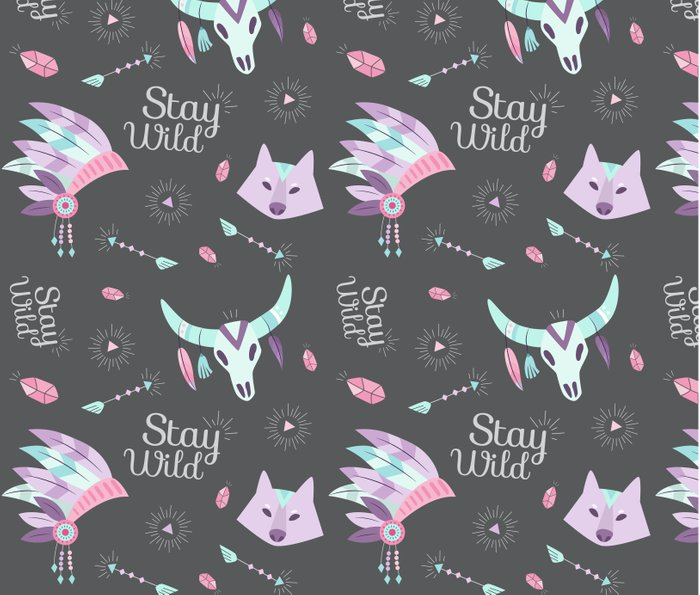 STAY WILD Metal Travel Mug