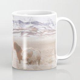 WILD AND FREE 3 - HORSES OF ICELAND Coffee Mug