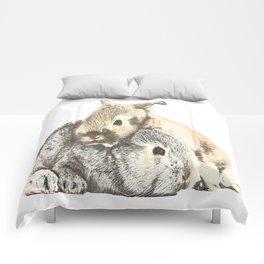 FURRY LOVE Comforters