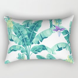 Banana leaf bloom Rectangular Pillow