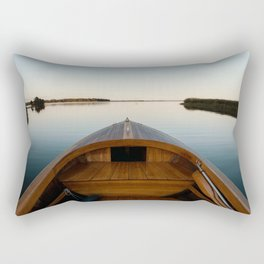 Summer Mornings On The Lake Rectangular Pillow