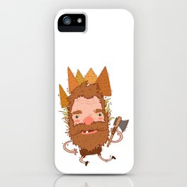 Lumberjack Graphic iPhone Case