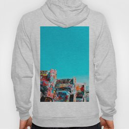 West Coast Road Trips Series: Cadillac Ranch Hoody