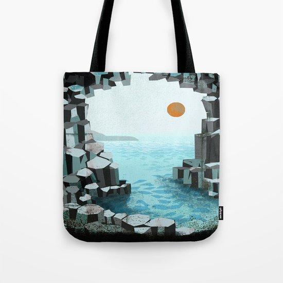 Fingal's Cave Overture - Hebrides - Mendelssohn Tote Bag