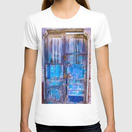 Old Door,Santorini T-shirt
